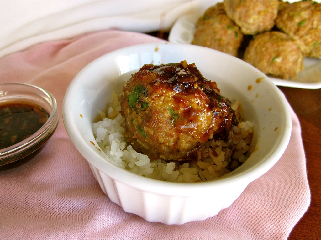 ... Turkey Meatballs With Lime Sesame Dipping Sauce Recipes — Dishmaps