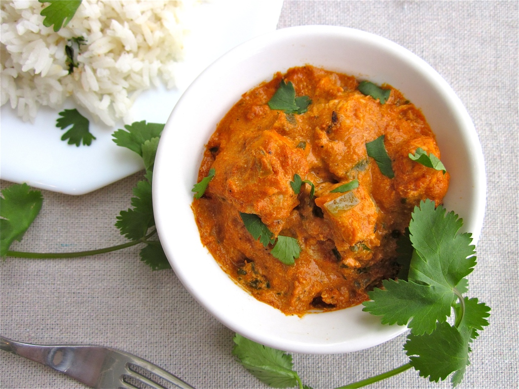 Chicken Tikka Masala with Coconut Jasmine Rice - The Food Charlatan