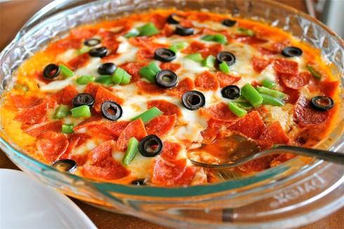 Hot Pizza Dip - The Food Charlatan