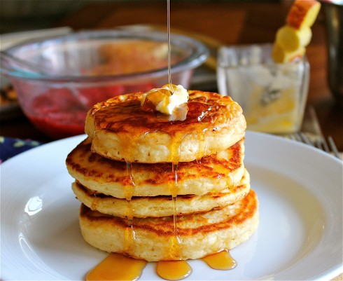 Good Old Fashioned Pancakes - The Food Charlatan